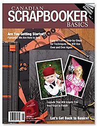 Canadan scrapbooker basics