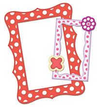 S5-016 polka dot frame