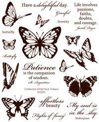 5000 - Vintage Butterflies