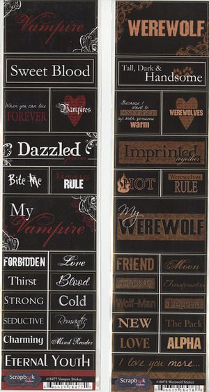 Vampire-stickers