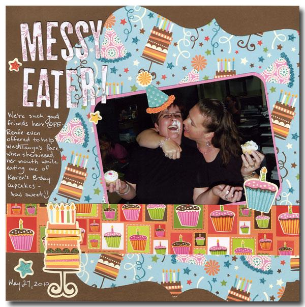 Messy-eater