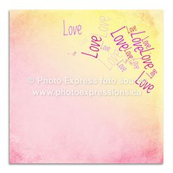 Preview-PE116---12x12-Love-on-Yellow--Pink