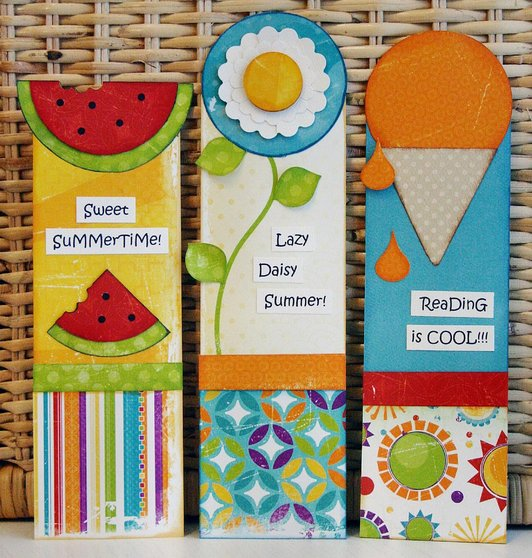 craft ideas for making bookmarks photo expressions summer bookmarks 6203