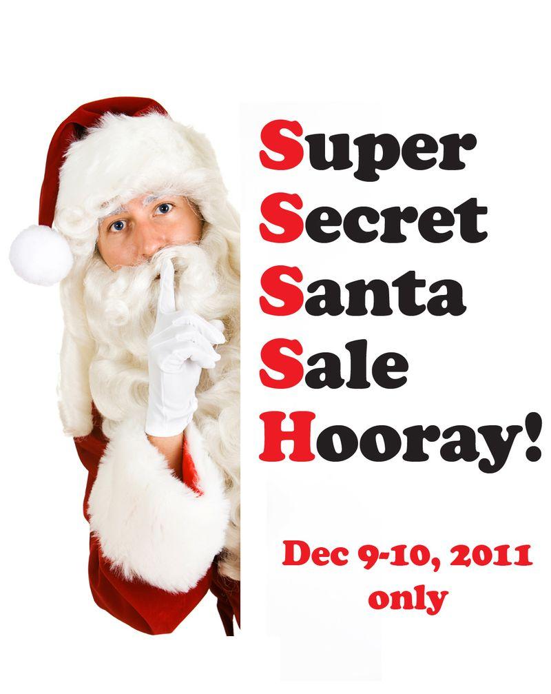 Secret santa logo