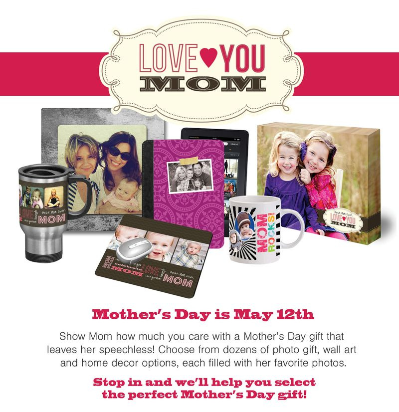 Love You Mom - Mothers day gifts