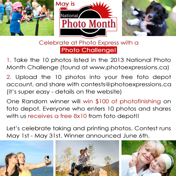 National Photo Month Photo Challenge 2013