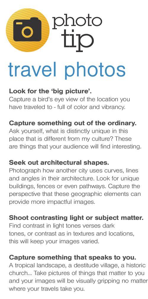 Travel photo tips 1