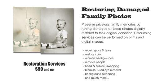 Restoring old photos
