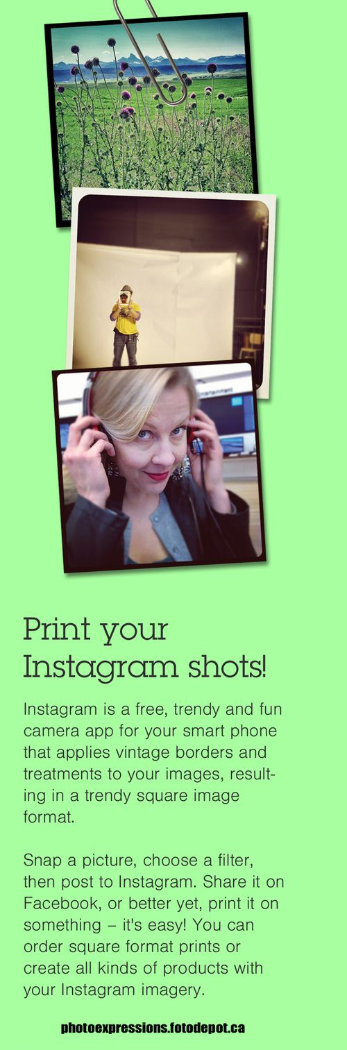 Print your instagram photos