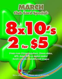 Monthlyclubcardspecial